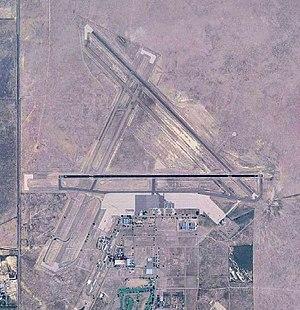 La Junta Municipal Airport - USGS 2006 orthophoto