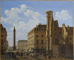 Place Vendôme and Rue de Castiglione with Ruins of Église des Feuillants