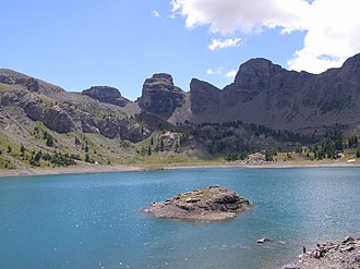 Lac d'Allos - Image: Lac d'Allos