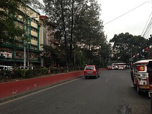 Sampaloc, Manila - Lacson Avenue, one of the major thoroughfares in Sampaloc.
