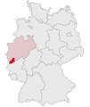 Lage des Kreises Euskirchen in Deutschland.PNG