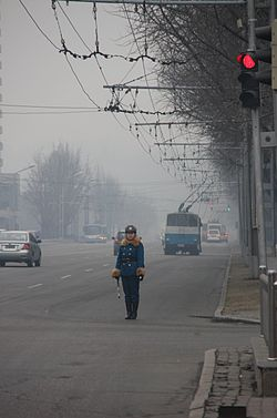 What Is Smog >> Environment of North Korea - Wikipedia