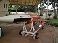 Lakshya PTA (pilotless target aircraft) at HAL 7686.JPG