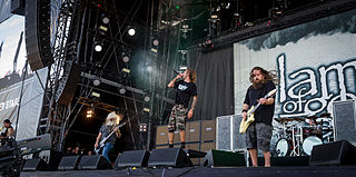 Lamb of God (band) metal band from United States