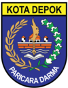 Official seal of Depok