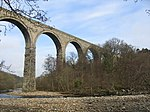 Railway Viaduct Across River South Tyne