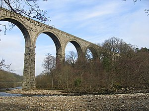 Lambley, Northumberland - Image: Lambley Viaduct geograph.org.uk 168397