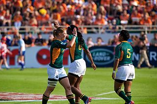 South Africa womens national rugby sevens team