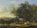 Landschap met twee ezels, geitjes en varkens Rijksmuseum SK-A-195.jpeg