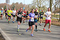 Large group runners in a park marathon Rotterdam 2015.jpg