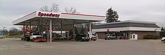 Speedway LLC - Larger Speedway store, in Bath Township, Michigan