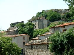 Laroque-de-Fa (France) Village.jpg