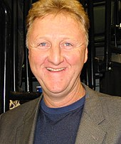 head shot of Larry Bird