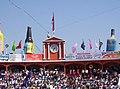 Las banderas, en la plaza de toros Alberto Balderas - panoramio.jpg