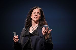 Laura Poitras - Poitras at PopTech 2010 in Camden, Maine