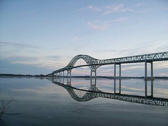 Laviolette Bridge - Image: Laviolette Bridge