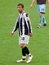 Adam le Fondre on the pitch in 2007.