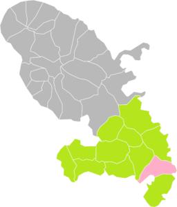 Le Marin (Martinique) dans son Arrondissement