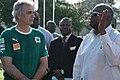Le Président de la Côte d'Ivoire, Laurent Gbagbo et Vahid Halilhodzic, Sol Beni, Abidjan, Côte d'Ivoire, 30.05.'08 (8932).jpg
