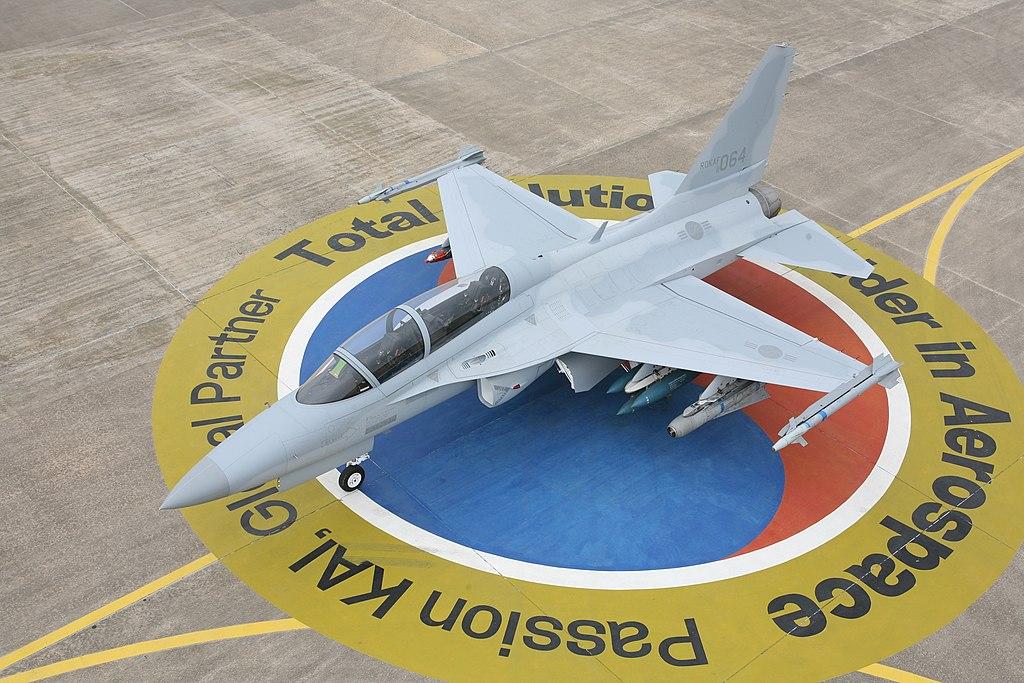 المقاتله الخفيفه KAI T-50 Golden Eagle الكوريه الجنوبيه    1024px-Lead_In_Fighter_Trainer_TA-50_in_KAI