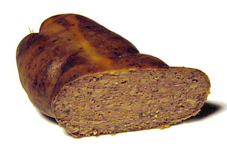 Liverwurst - Liverwurst, boiled and smoked