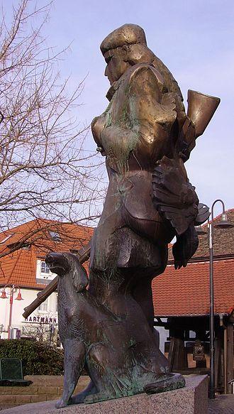 Natty Bumppo - Natty Bumppo sculpture in Edenkoben