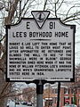 Lees Boyhood Home (Historical Highway Marker E-91) (3358258927).jpg