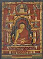 Left art detail, from- Tibetan - Buddha Shakyamuni and Prajnaparamita - Walters W8561 (2) (cropped).jpg