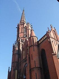 Legnica, kościół pw. Świętej Trójcy - 1 listopada 2011 r.SDC12435.jpg