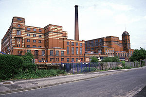 Leigh Spinners - Leigh Spinners, a double, brick-built cotton mill built in the early 20th century.