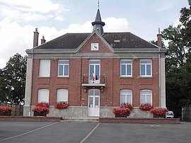 The town hall of Lempire