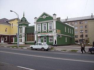 Stary Oskol City in Belgorod Oblast, Russia