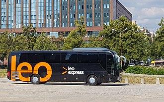 Leo Express - Leo Express bus