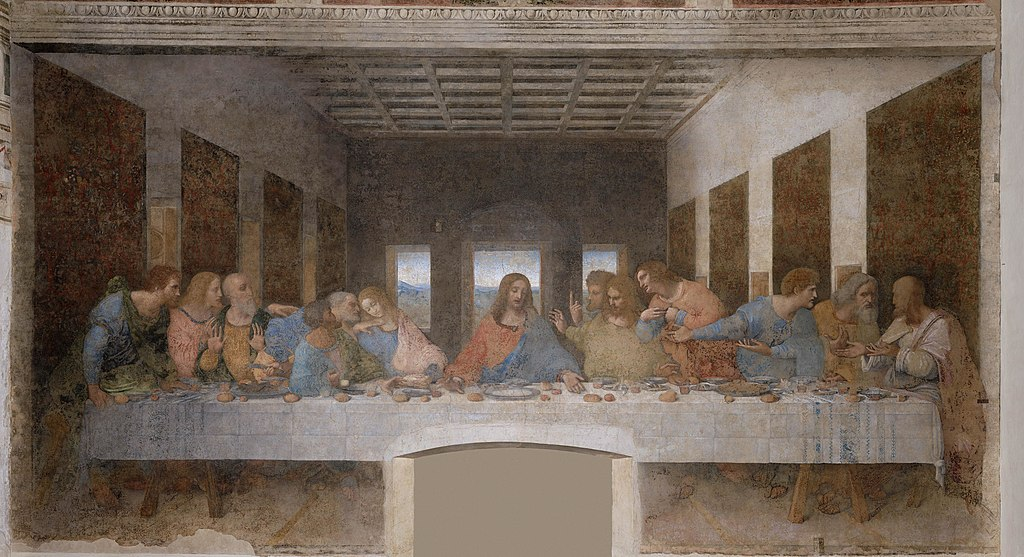Leonardo da Vinci - The Last Supper high res