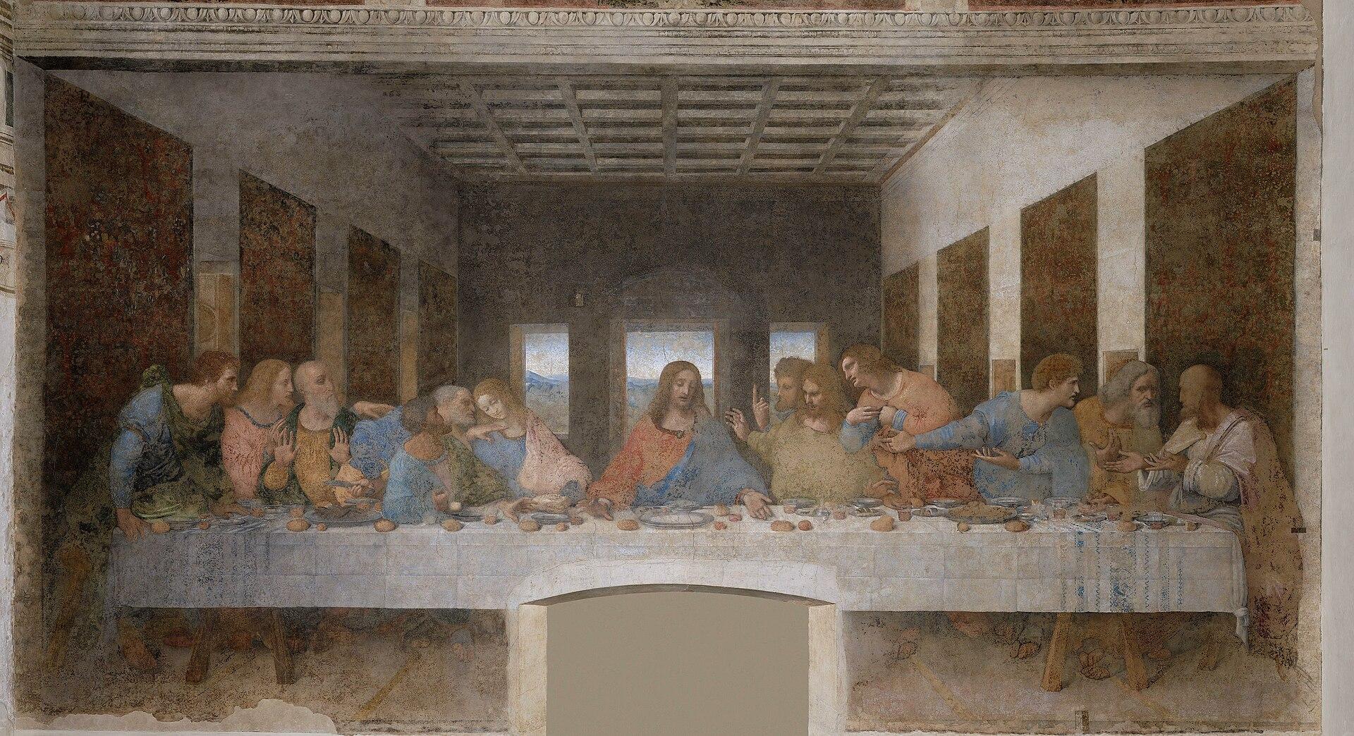 Leonardo da Vinci - The Last Supper high res.jpg