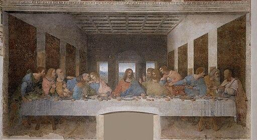 Leonardo da Vinci - The Last Supper high res