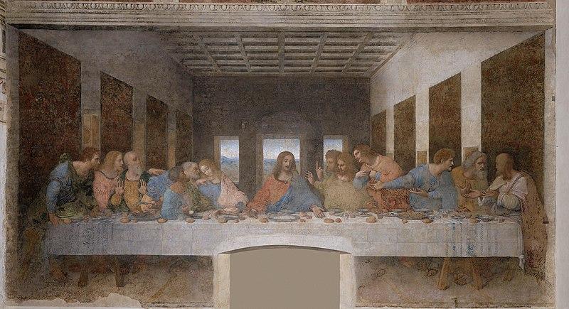 File:Leonardo da Vinci - The Last Supper high res.jpg