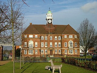 Letchworth town and former civil parish in Hertfordshire, England