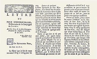 Jean-Baptiste Du Halde