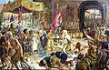 Liberación de los cautivos de Málaga por los Reyes Católicos (Museo de Málaga).jpg