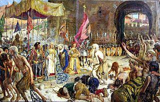 Liberación de los cautivos de Málaga por los Reyes Católicos