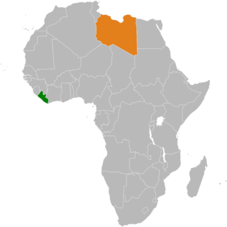 Diplomatic relations between the Republic of Liberia and State of Libya