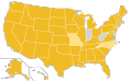 Libertarian Party Ballot Access Locator Map, 1988 (United States of America).png