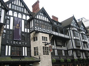 Liberty (department store) - Image: Liberty department store London