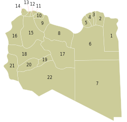 Libyan Shabiat 2007 with numbers.svg