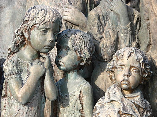 Lidice Memorial - Memorial to Child Victims of War - By Marie Uchytilova - Near Prague - Czech Republic - 03