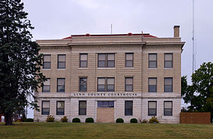 National Register of Historic Places listings in Linn County, Missouri - Image: Linn County Missouri courthouse 20151004 116