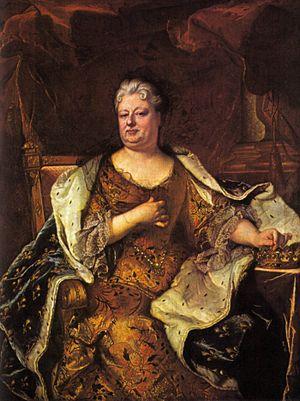 Kurpfälzisches Museum - Hyacinthe Rigaud: Elizabeth Charlotte, Princess Palatine (1713)