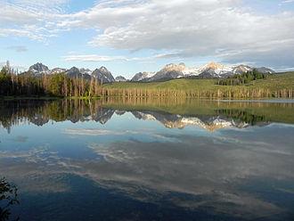 Little Redfish Lake - Little Redfish Lake