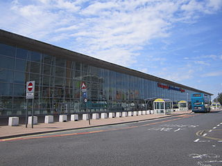 Liverpool John Lennon Airport airport in Liverpool, England
